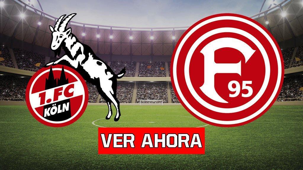 Colonia vs Fortuna Dusseldorf EN VIVO Y ONLINE Bundesliga