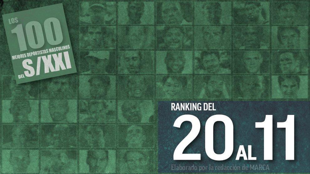 Los 100 mejores deportistas del Siglo XXI