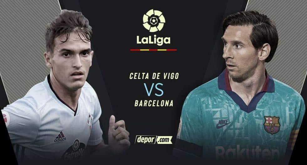 Desde Balaídos, Barcelona vs. Celta de Vigo EN VIVO: chocan con Leo Messi por LaLiga Santander 2020 Barcelona vs. Celta de Vigo EN VIVO EN DIRECTO ONLINE TV chocan este sábado 27 de junio vía DirecTV Sports, Movistar, Sky Sports y Mitele Plus en el estadio de Balaídos por la fecha 32 de LaLiga Santander 2020.