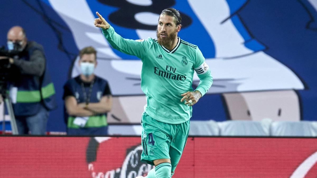 Real Sociedad-Real Madrid en imágenes