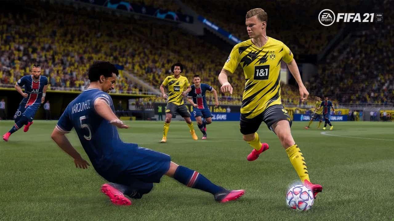 Desmarque manual FIFA 21 : así funciona la nueva mecánica de 'desmarque manual'