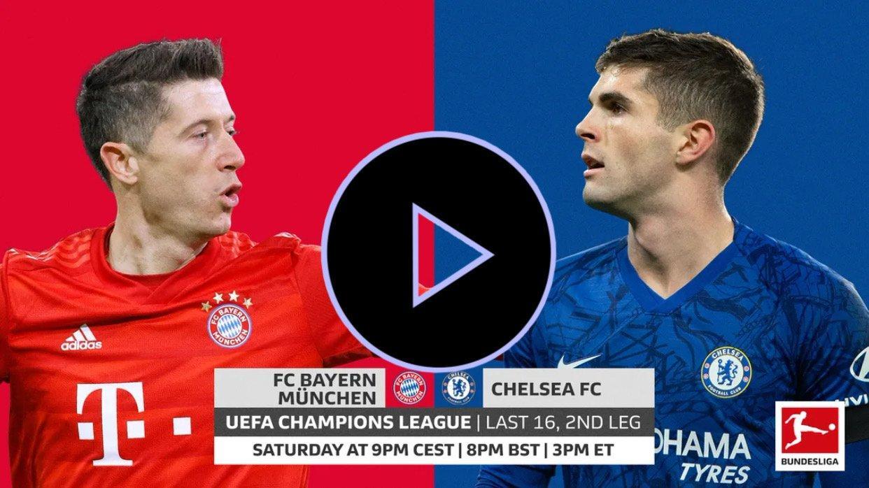 Bayern Munich Vs Chelsea En Vivo Gratis Online Horario Y Dónde Ver En Vivo Hoy Por Tv La Vuelta De Octavos De Final De La Champions League Qué Canal Transmite Bayern