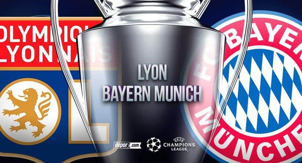 Canales de TV EN VIVO: Bayern vs Lyon HOY por Champions League EN DIRECTO Bayern Munich y Lyon se miden HOY EN DIRECTO y ONLINE por semifinales de Champions League vía Movistar Partidazo, ESPN, FOX Sports, Mitele Plus y TUDN (2:00 p.m.) en Lisboa. MINUTO A MINUTO en Depor.