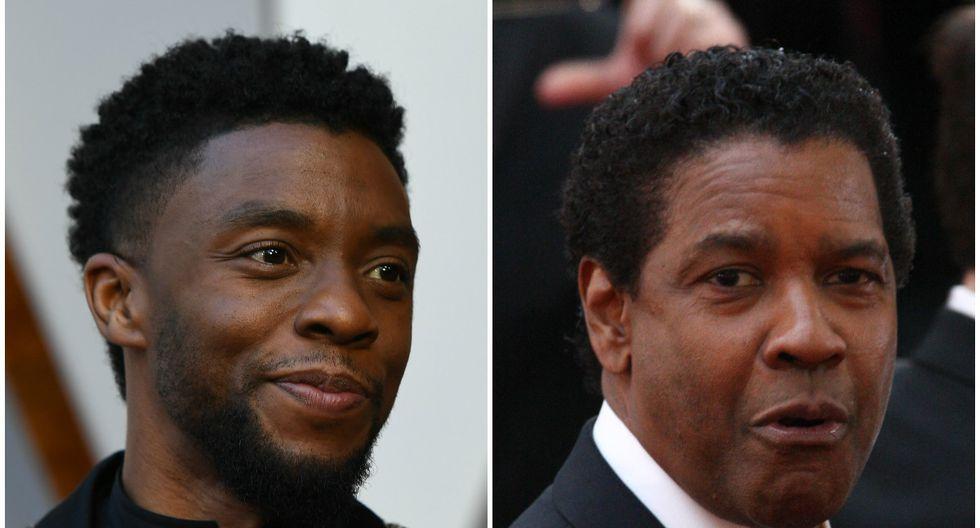 Denzel Washington le pagó los estudios a Chadwick Boseman y ninguno de los dos lo sabía