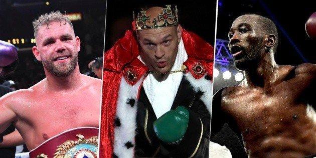 Los 25 grandes invictos del boxeo en la actualidad