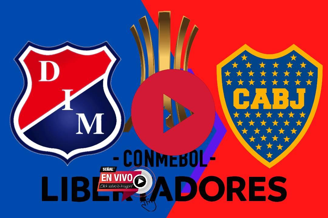 HOY COPA LIBERTADORES Independiente Medellín-Boca