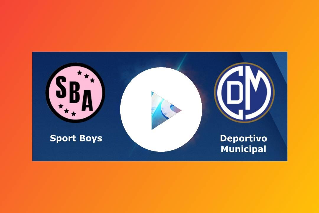 EN DIRECTO Sport Boys vs. Deportivo Municipal EN VIVO