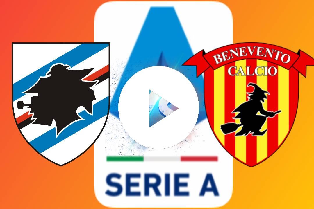 EN DIRECTO Sampdoria VS Benevento GRATIS EN VIVO ONLINE