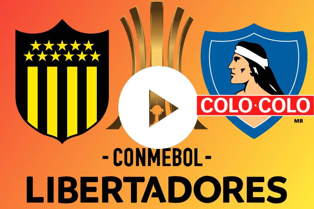EN DIRECTO Peñarol vs. Colo Colo GRATIS ONLINE EN VIVO