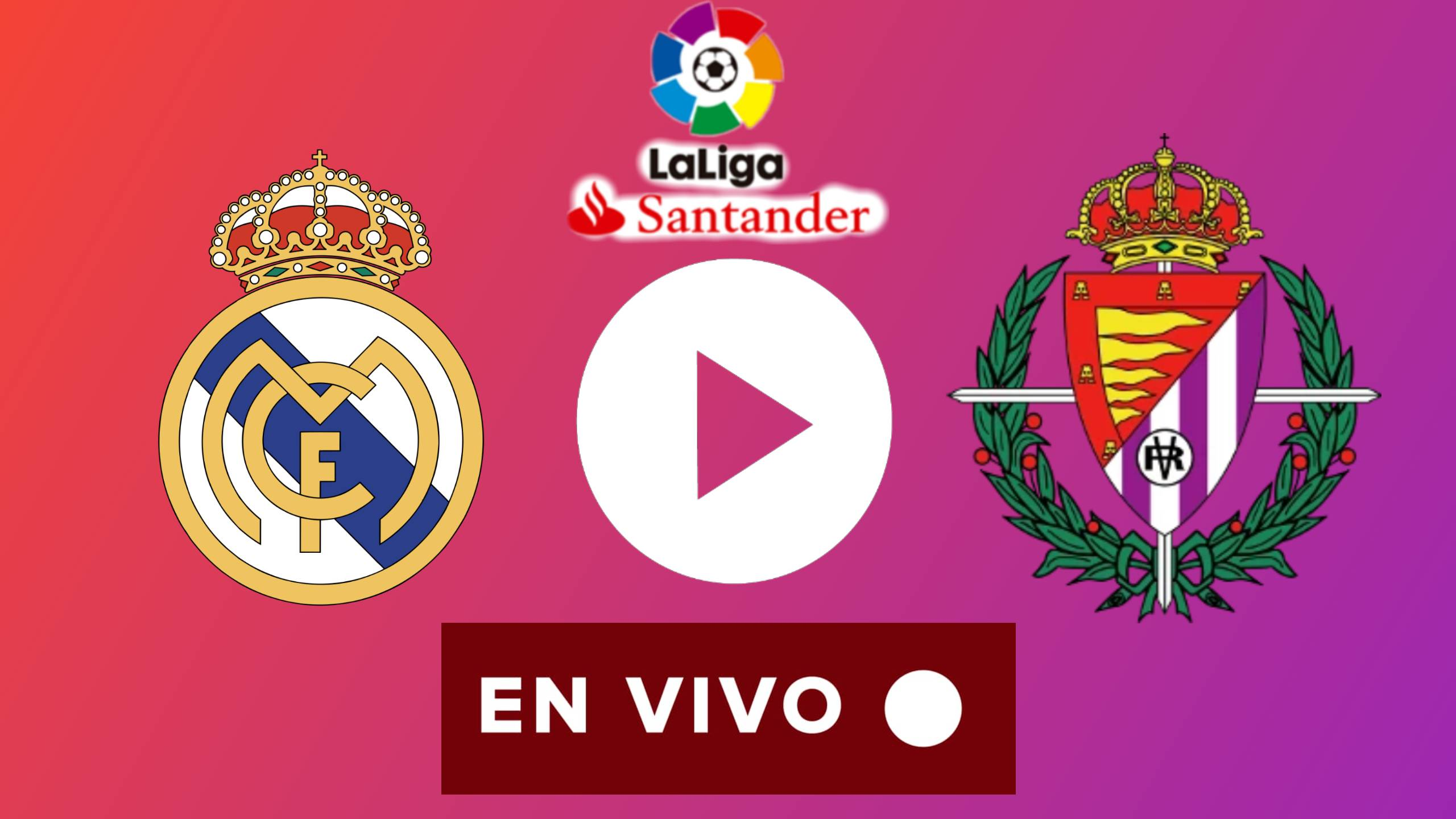 EN DIRECTO Real Madrid vs. Real Valladolid EN VIVO ONLINE por La Liga 2020
