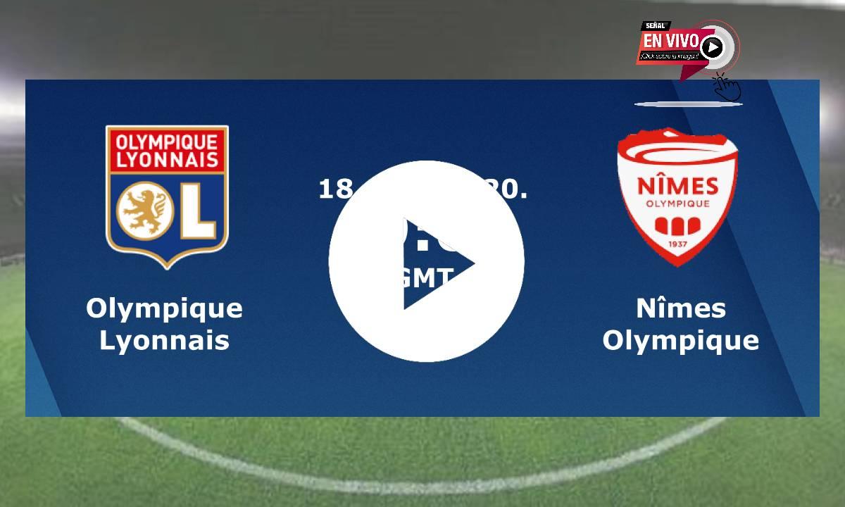 EN VIVO Olympique Lyonnais - Nîmes Olympique GRATIS ONLINE