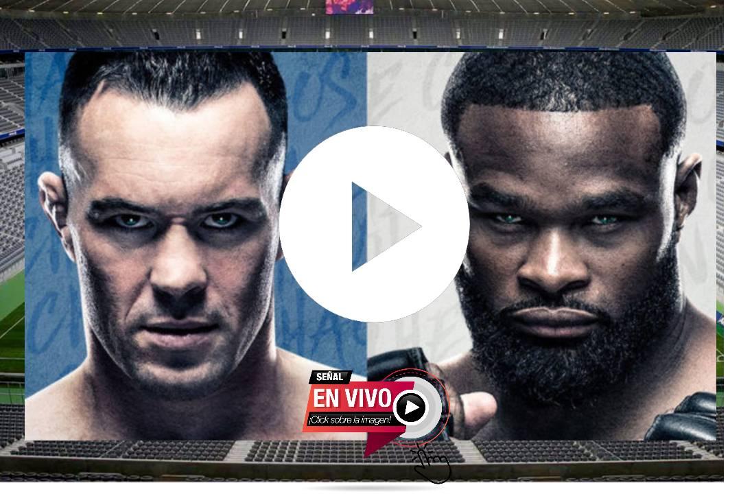 UFC en vivo GRATIS ONLINE: EN VIVO Covington vs Woodley, resultados en directo y cartelera completa de la pelea UFC Vegas 11