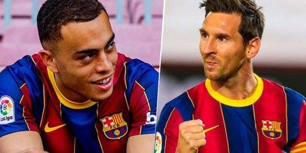 Dest como conocio a Messi y fue epico No entendi
