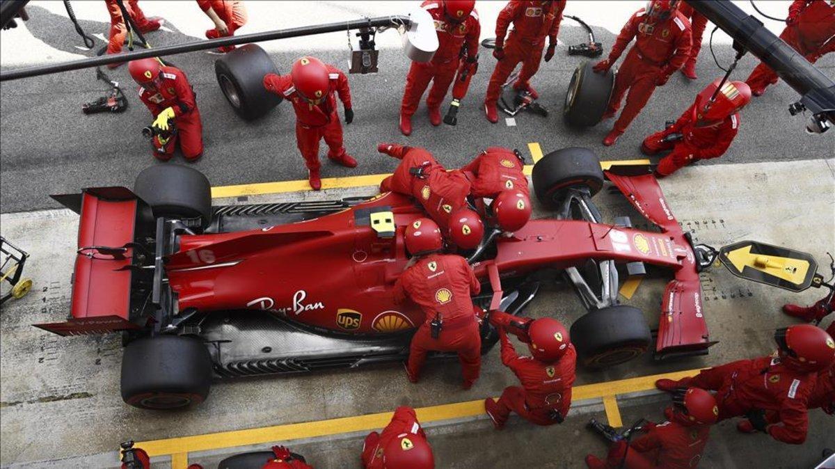 Ferrari dio un paso al frente en Rusia