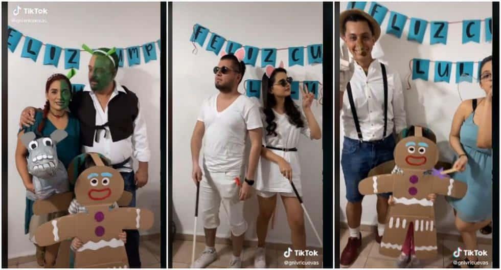 Video Viral: familia se disfrazó de los personajes de Shrek para celebrar un cumpleaños y temática remece las redes sociales Tik Tok |  VIDEO |  Tendencias |  Estados Unidos |  EEUU |  USA |  España |  ES |  México |  MX |  Colombia |  CO |  Perú |  PE |  FUERA DE JUEGO
