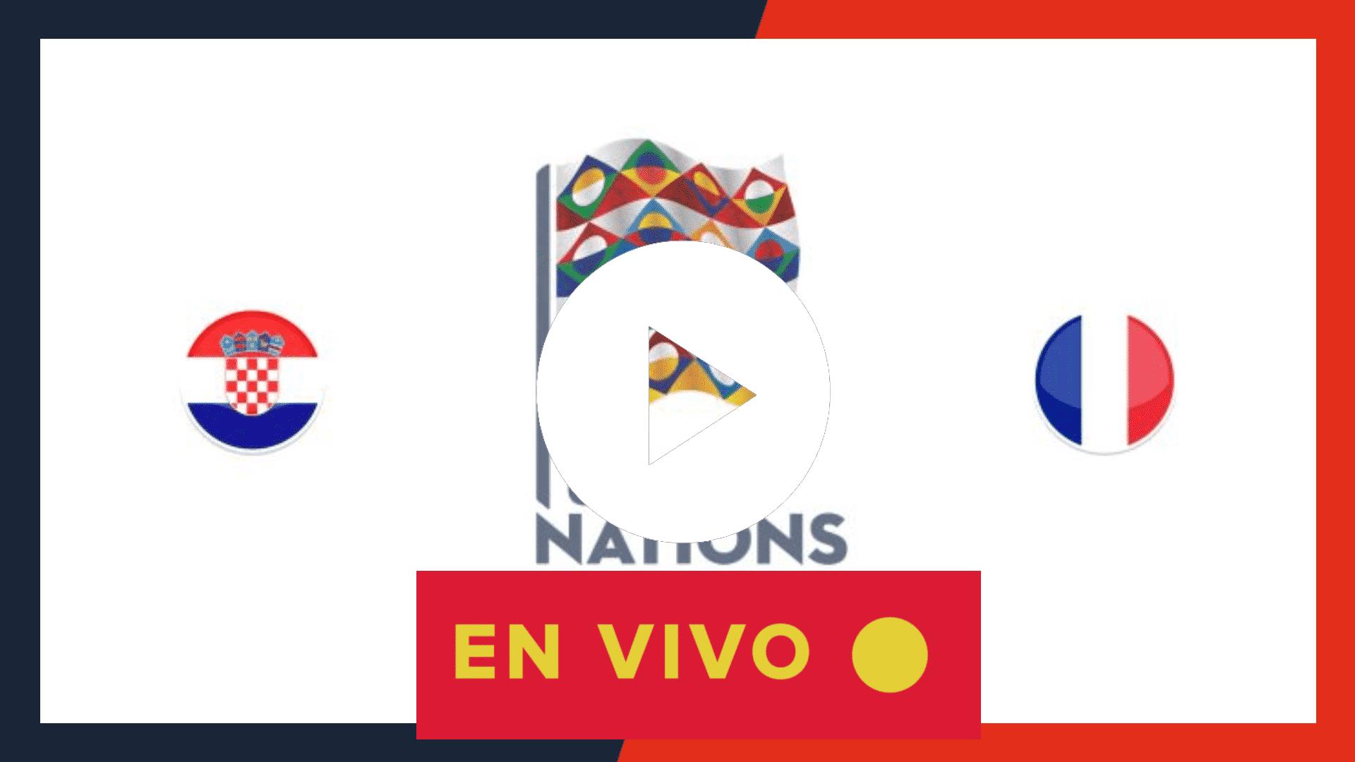 MIRAR AQUI EN VIVO GRATIS Croacia Vs Francia | horario, canal de TV en España, México y Sudamérica, streaming online y alineaciones UEFA NATIONS LEAGUE 2020