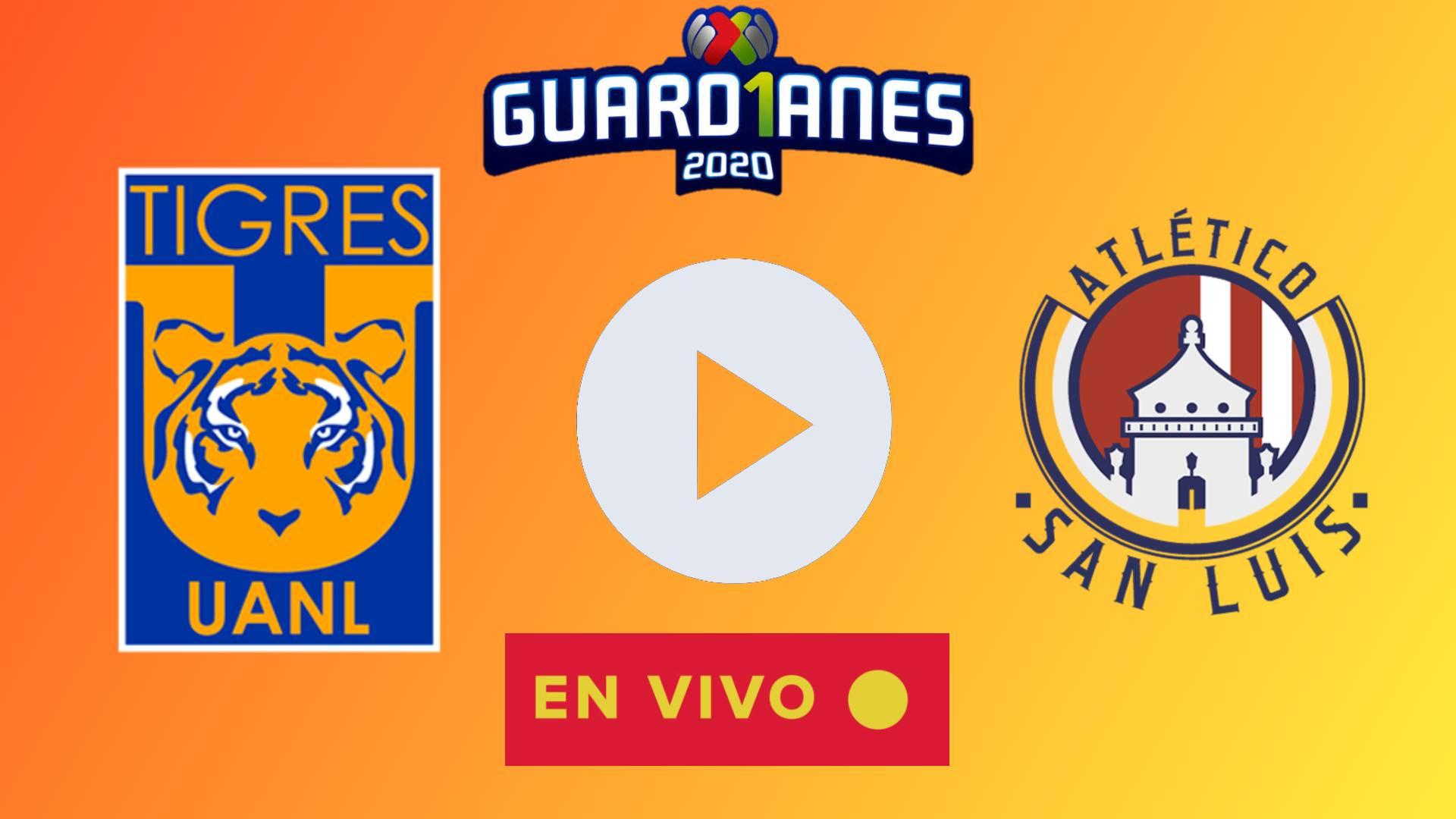 EN VIVO Tigres vs Atlético San Luis EN DIRECTO ONLINE en TUDN: juegan EN DIRECTO por la fecha 13 del Apertura 2020