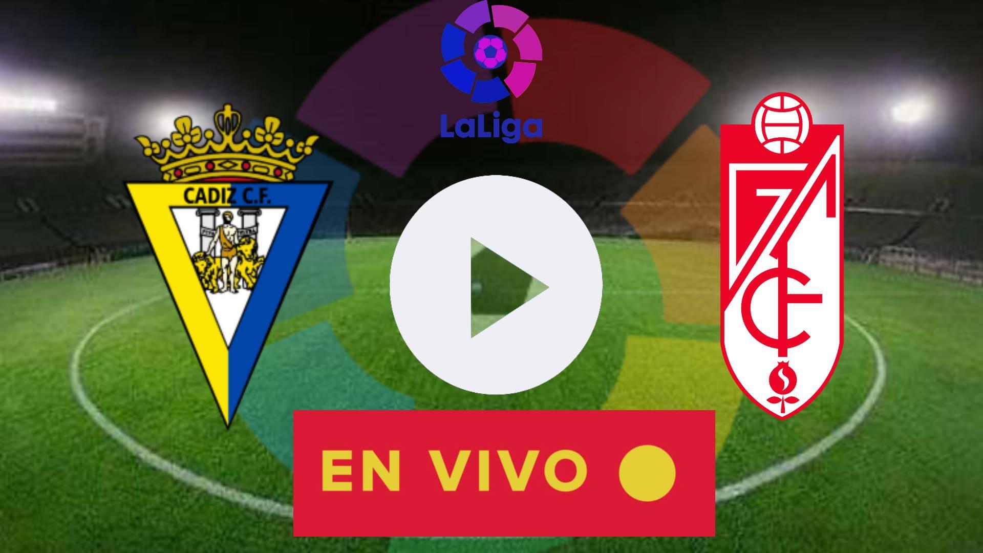 MIRAR AQUI EN VIVO Cadiz vs Granada ONLINE HORARIOS Y CANALES DE TV QUE TRANSMITEN LA LIGA 2020