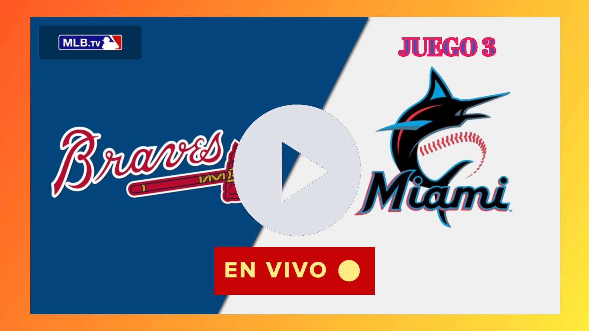 Braves vs. Marlins EN DIRECTO