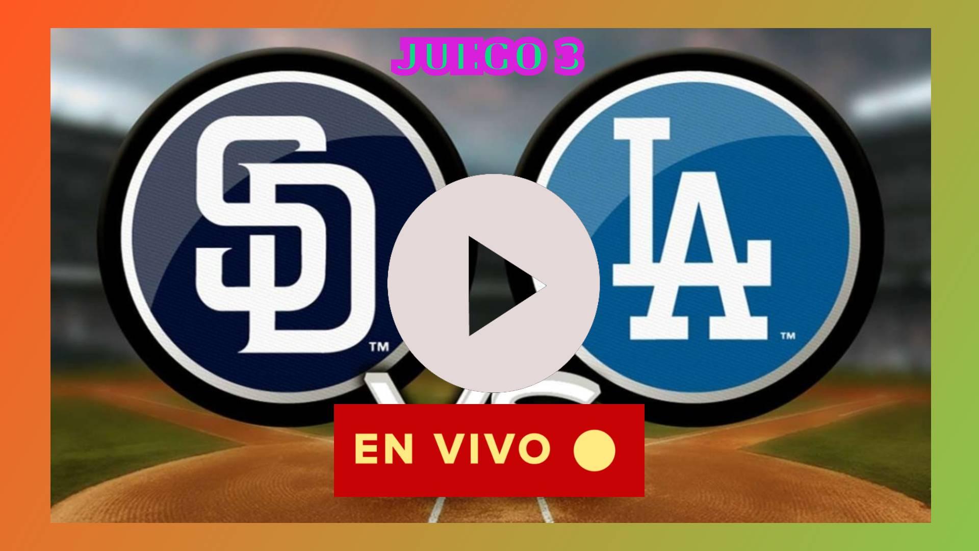 HOY SE DEFINE Dodgers vs.Padres EN DIRECTO JUEGO 3