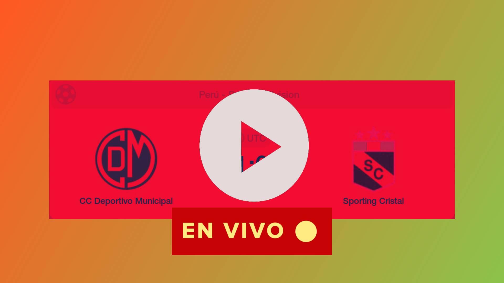 GRATIS ONLINE Sporting Cristal vs Deportivo Municipal en directo