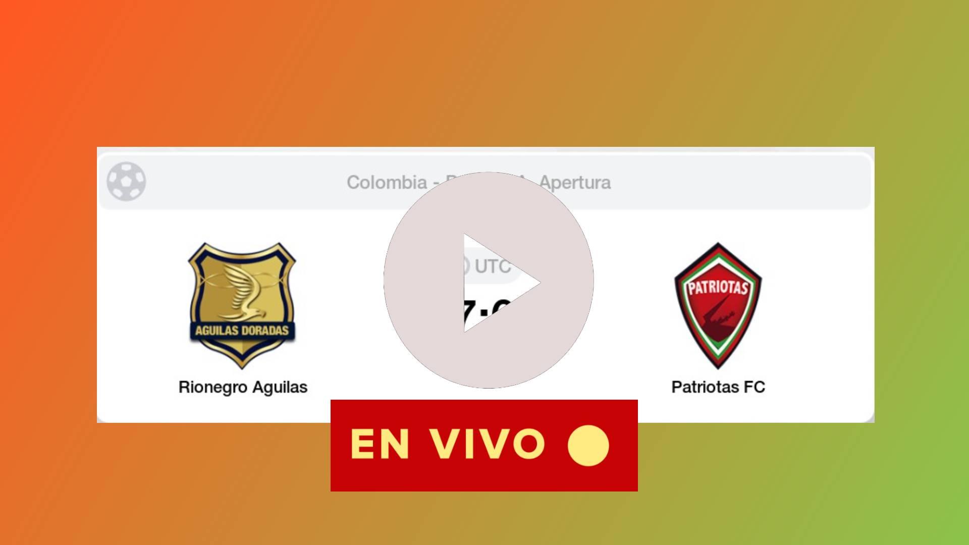 hoy en vivo gratis liga betplay Águilas Doradas vs Patriotas Boyacá jornada 12