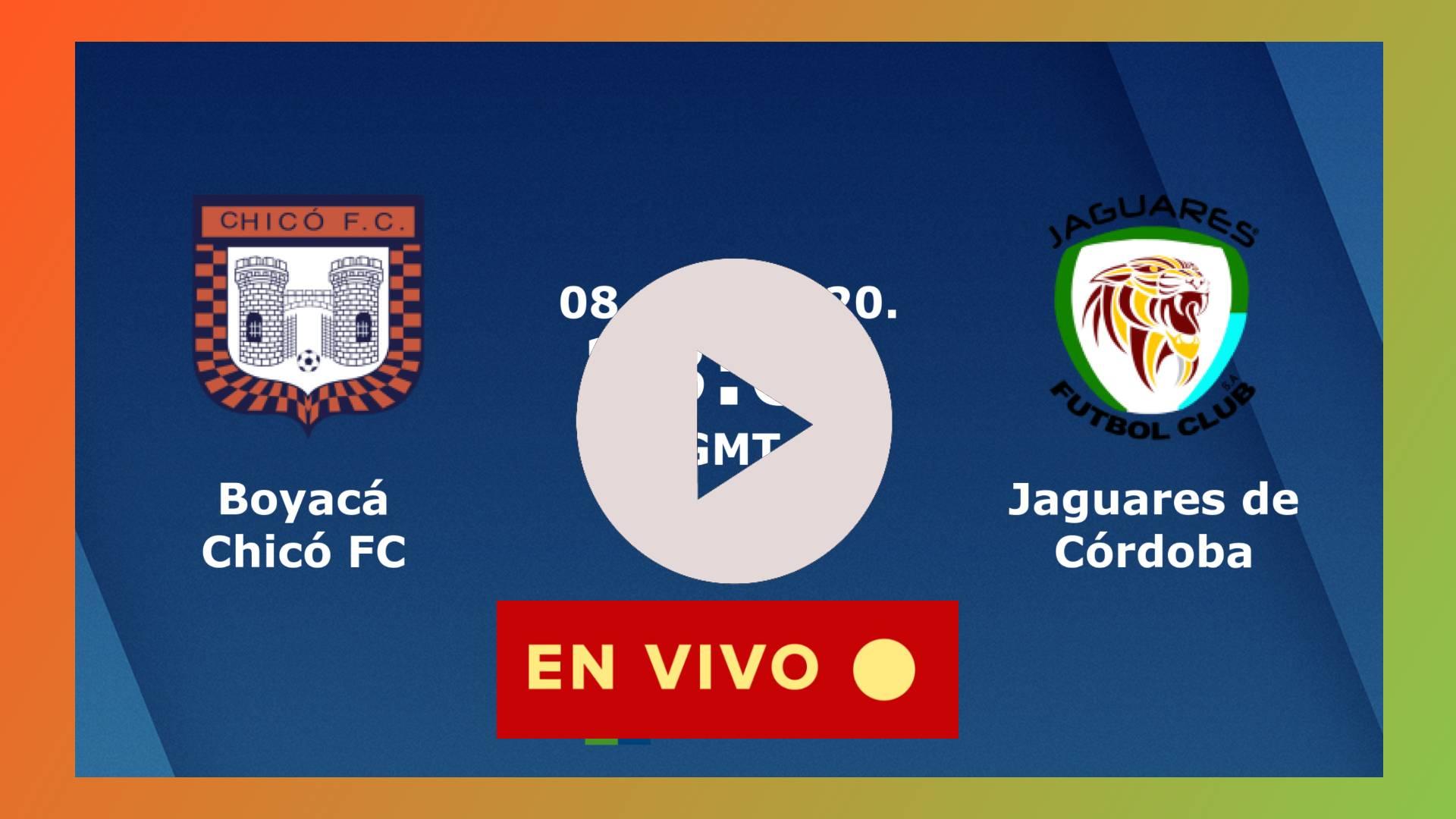 HOY En vivo Boyacá Chicó vs Jaguares de Córdoba minuto a minuto de la Liga Betplay 2020