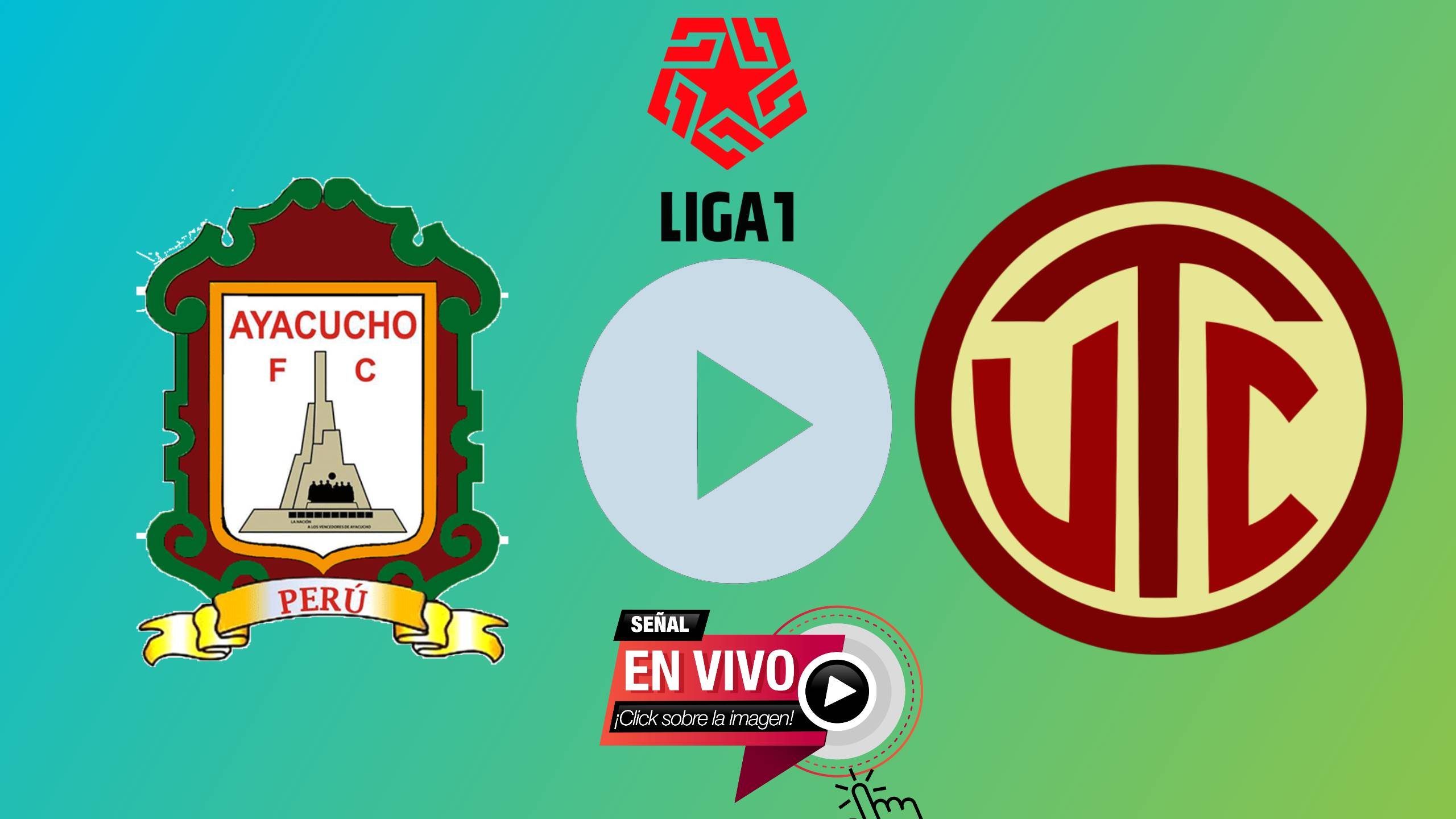 AQUI HOY EN VIVO GRATIS Ayacucho FC vs UTC CAJAMARCA