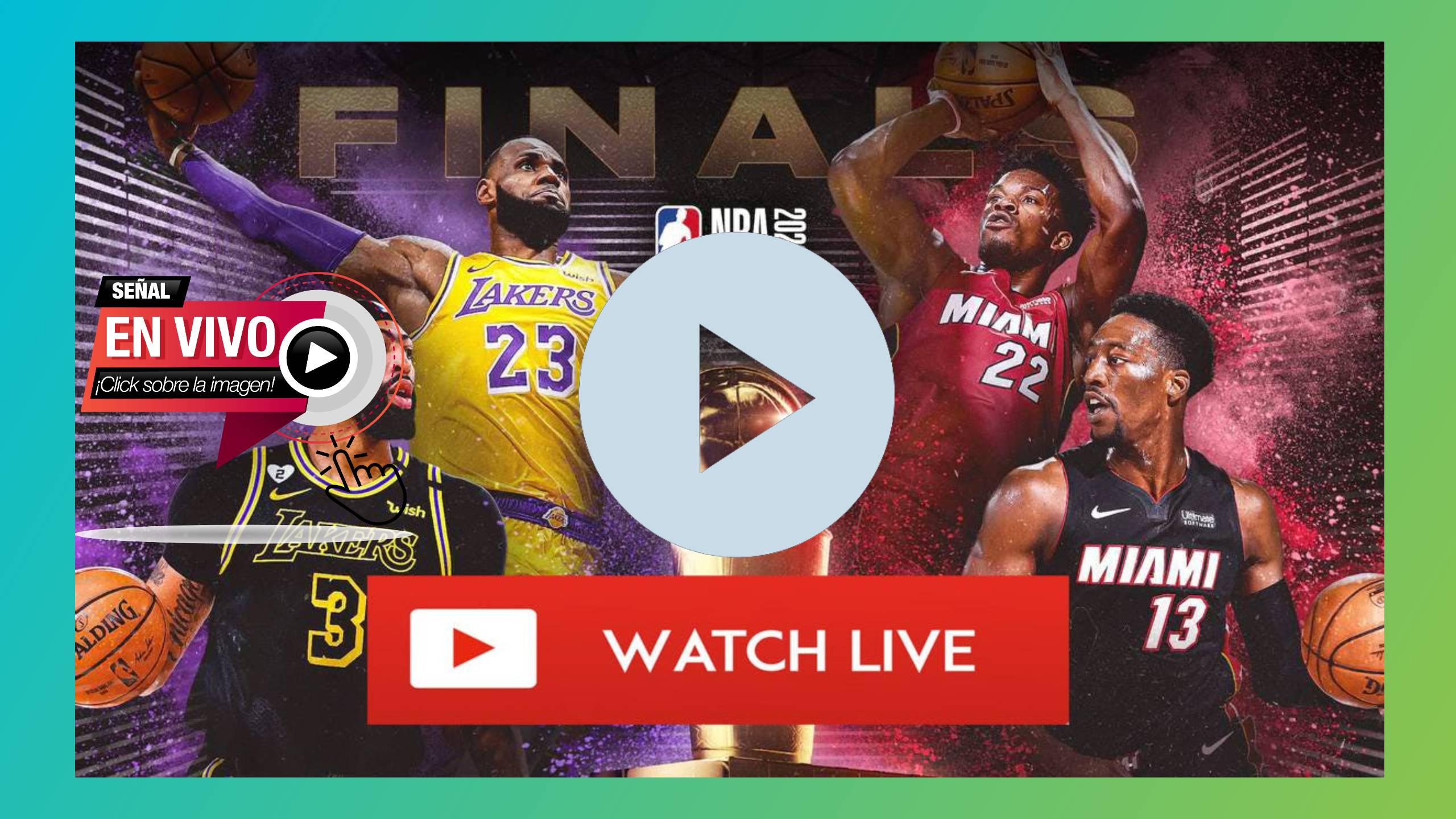 EN DIRECTO HOY EN DIRECTO Lakers vs Heat transmisión en vivo