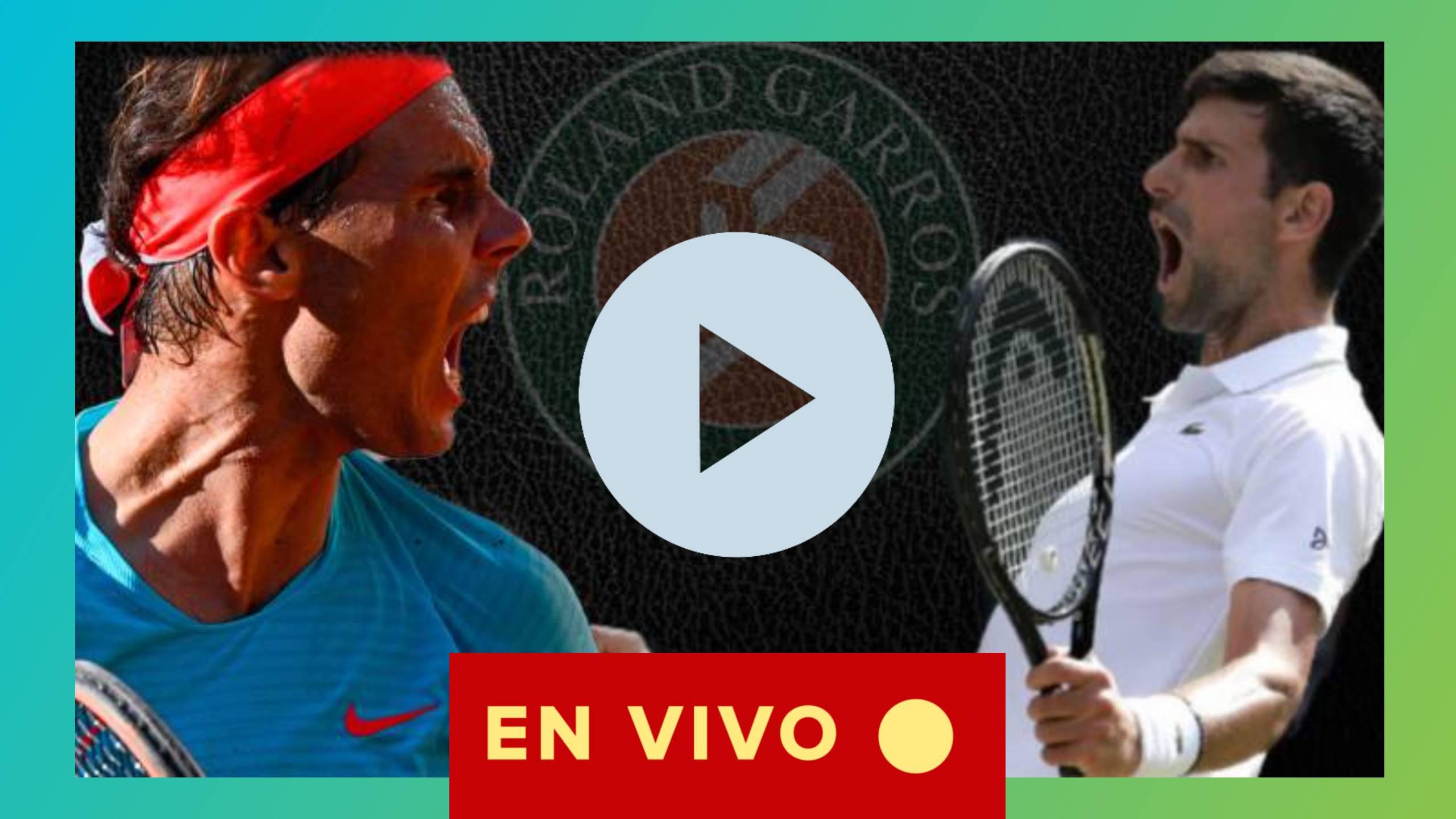 FINAL ROLAND GARROS 2020 Nadal vs Djokovic