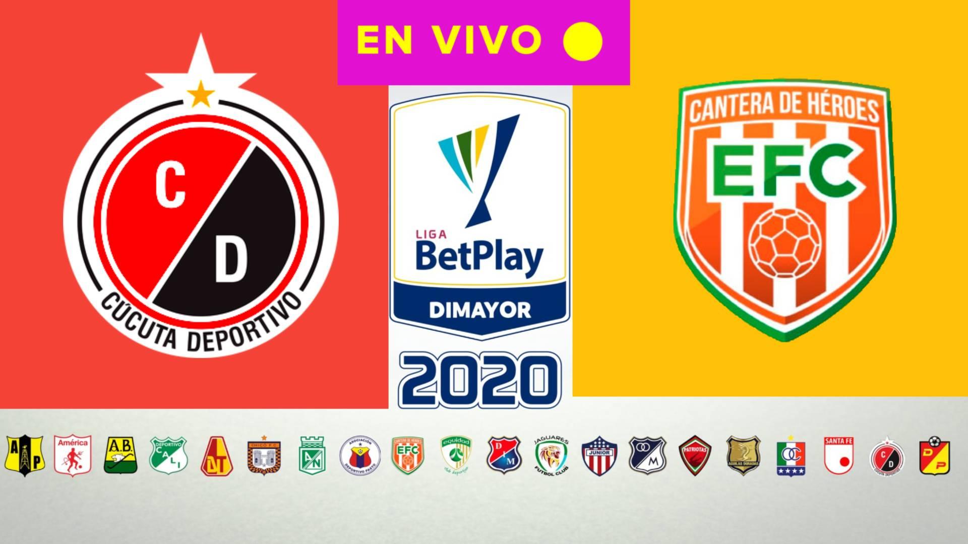 HOY EN VIVO LIGA BETPLAY 2020 | Cúcuta Deportivo vs Envigado