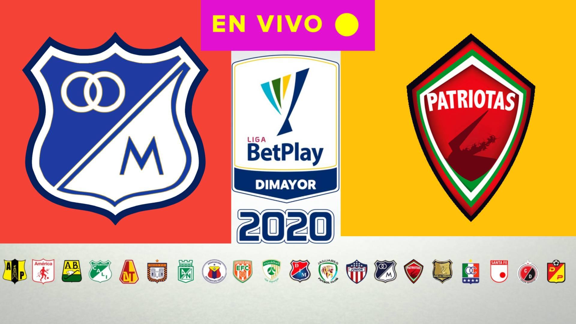 EN VIVO LIGA BETPLAY 2020 | ¿Qué canal de televisión transmite Millonarios vs Patriotas Boyacá
