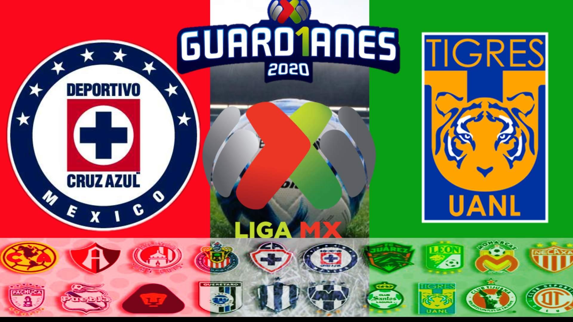 COMO VER EN VIVO HOY Cruz Azul vs Tigres UANL por la Liga MX 2020 HORARIOS Y CANALES QUE TRANSMITEN EN VIVO