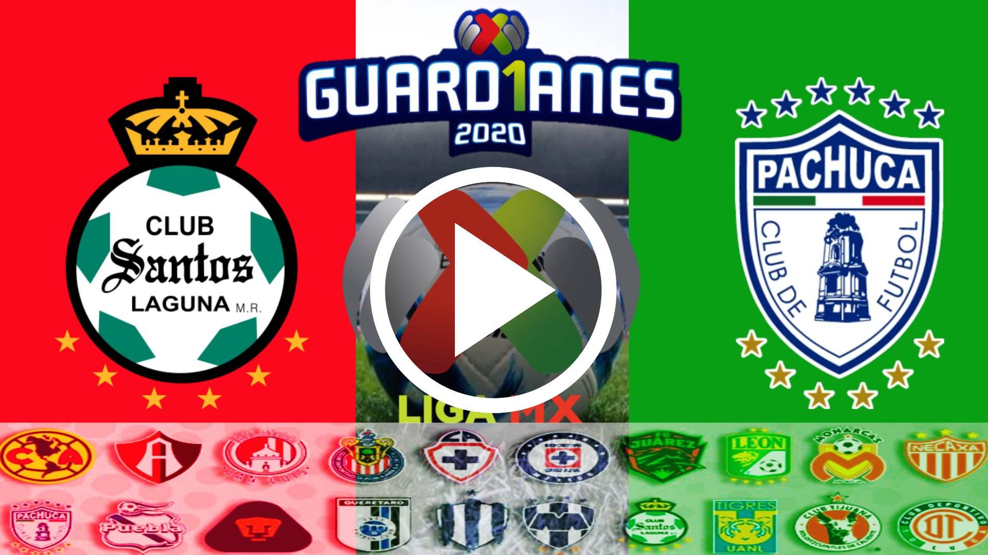 ESTE ES EL MEJOR SITIO PARA VER EN VIVO SANTOS VS PACHUCA GRATIS ONLINE Horario y dónde ver el partido de la Jornada 14 de Liga MX Apertura 2020