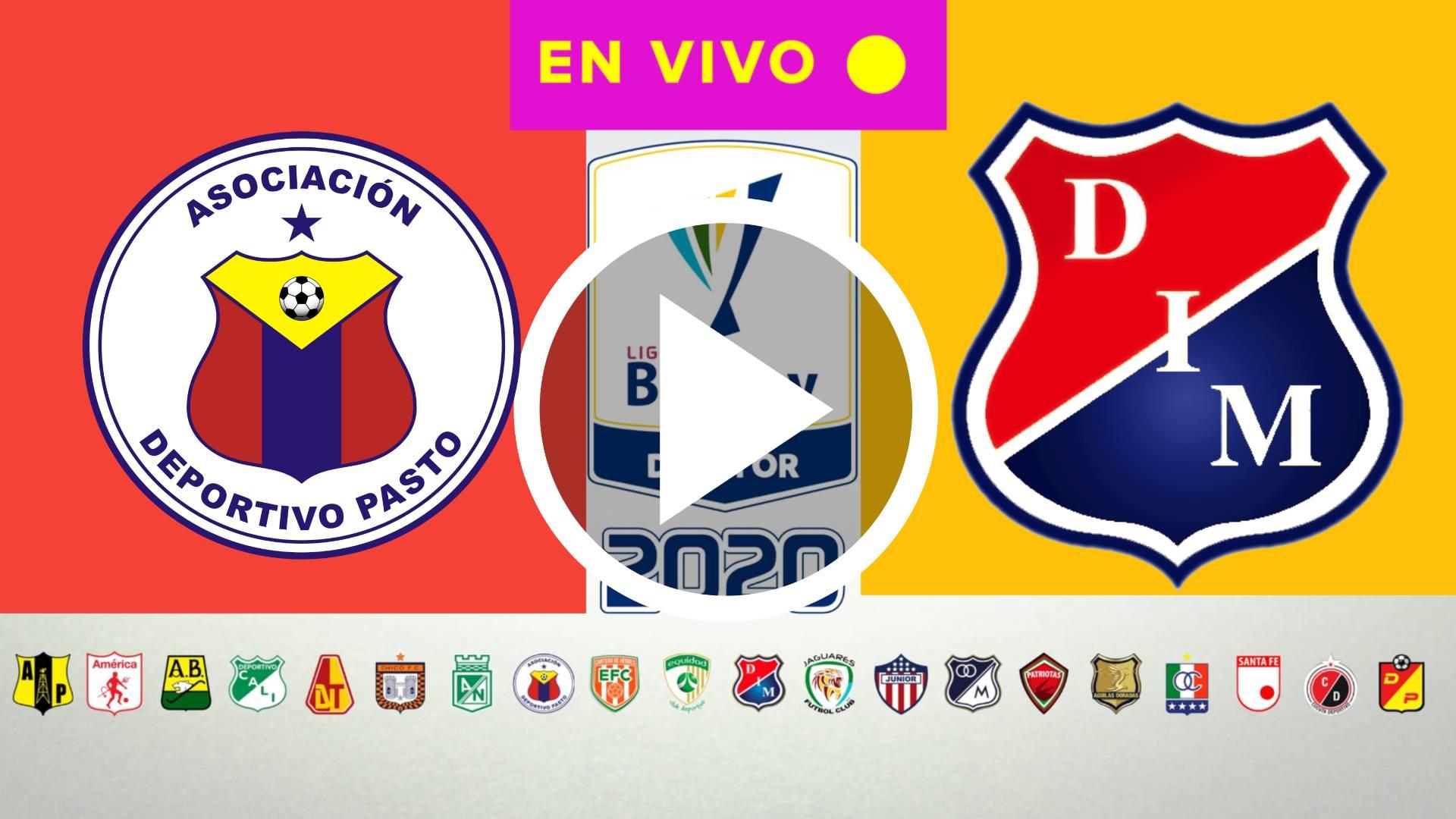 HOY AQUI LIGA BETPLAY 2020 Deportivo Pasto - Medellín EN DIRECTO GRATIS HOY