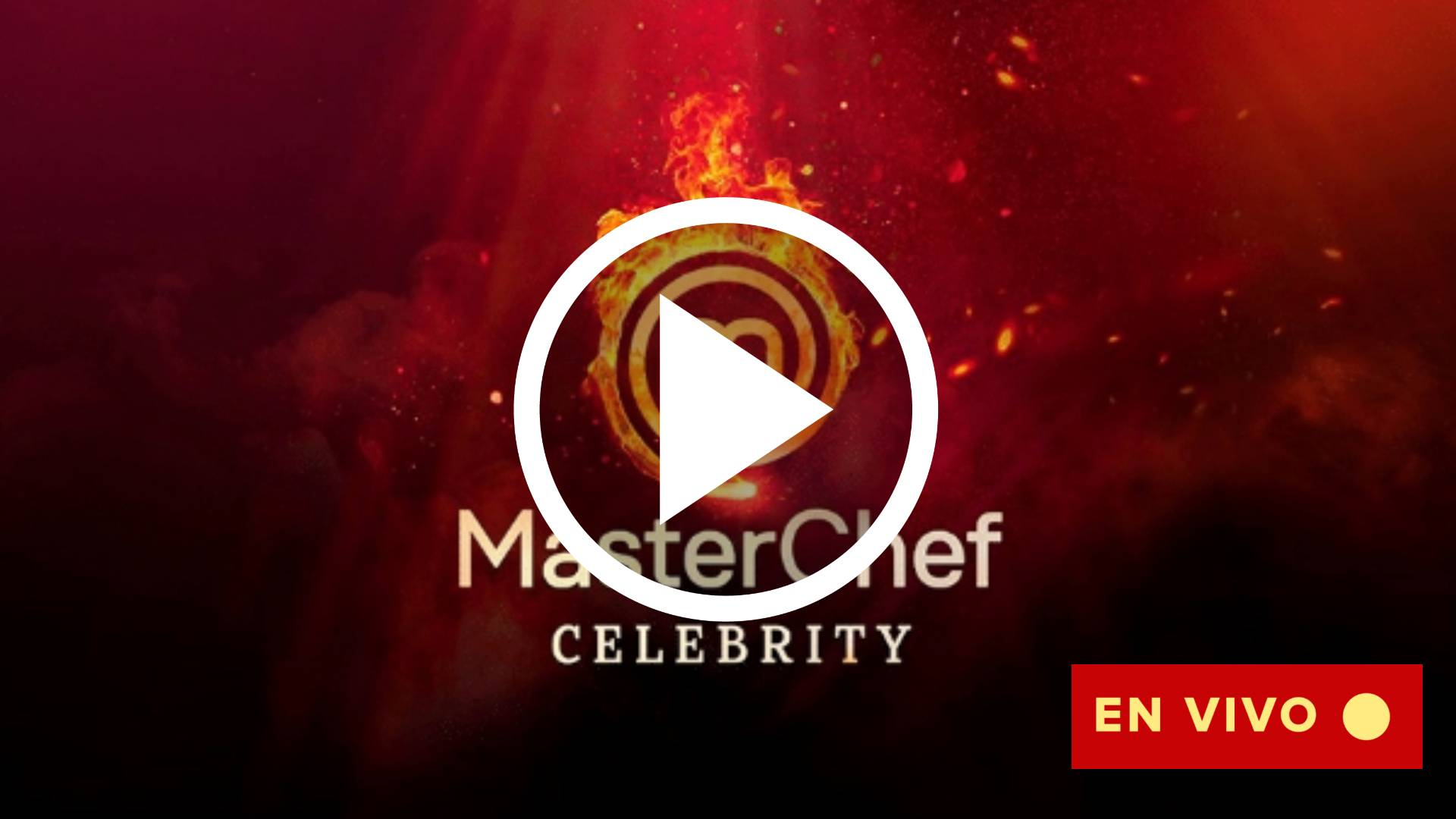EN VIVO Masterchef Celebrity Argentina