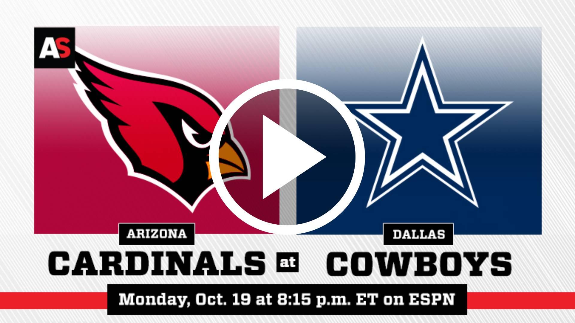 NFL EN VIVO ONLINE GRATIS 2020 | Cowboys vs. Cardenales
