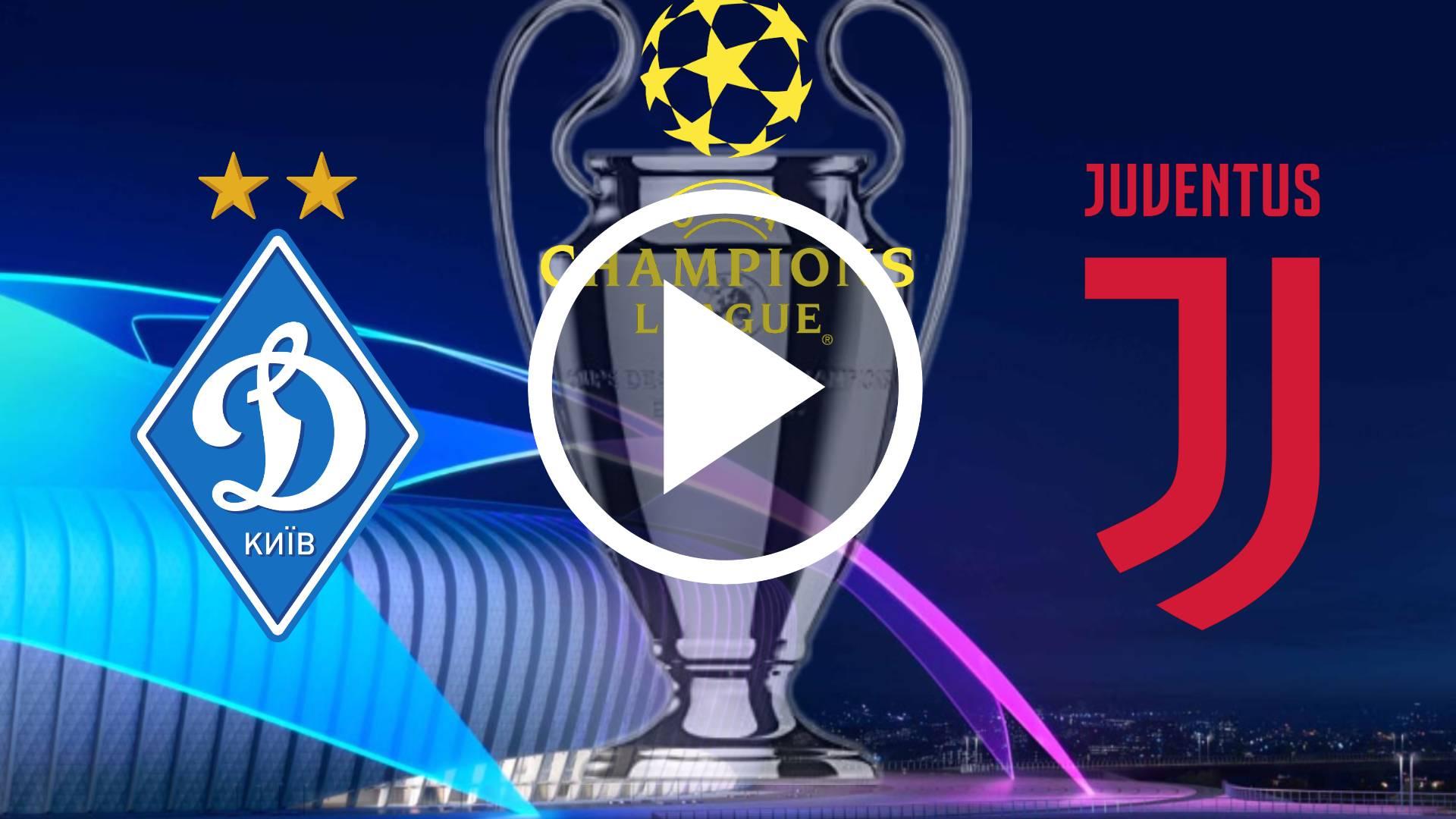 MIRA AQUI EN DIRECTO Dynamo de Kyiv vs Juventus Live Stream fecha, horarios y canales de TV para ver la Champions League 2020
