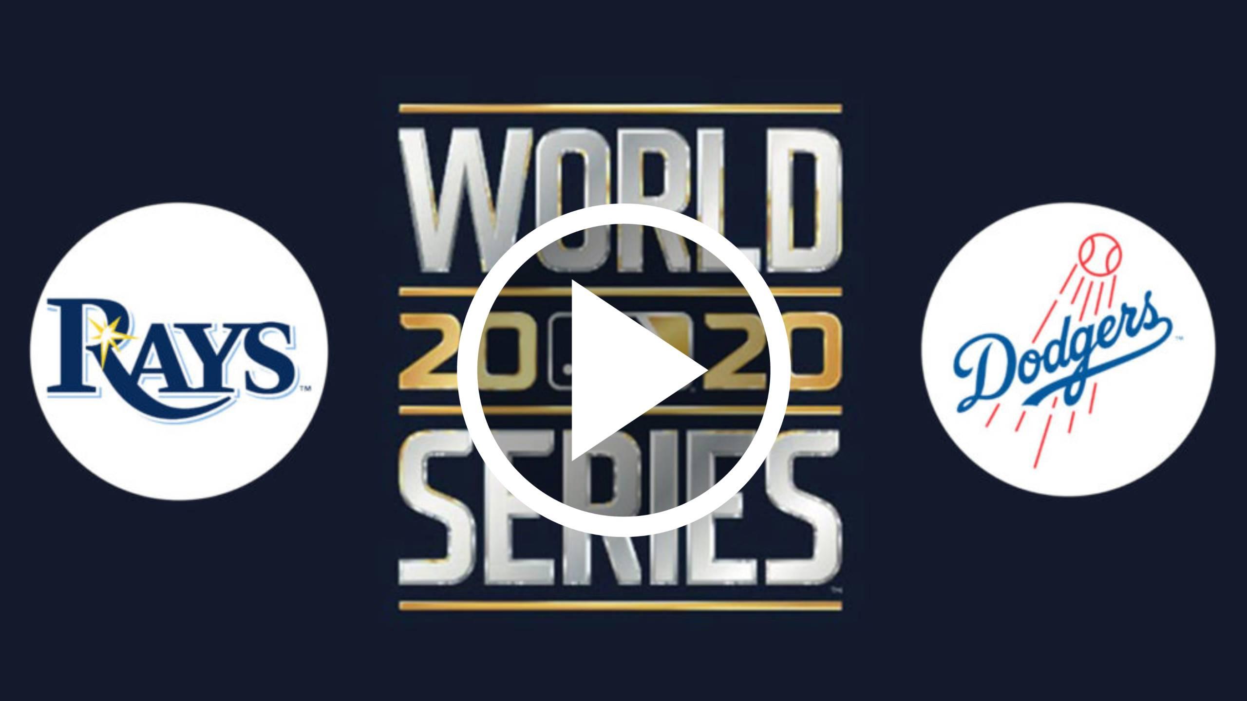 HOY MLB EN VIVO GRATIS ONLINE DODGERS VS RAYS Juego de la Serie Mundial 1