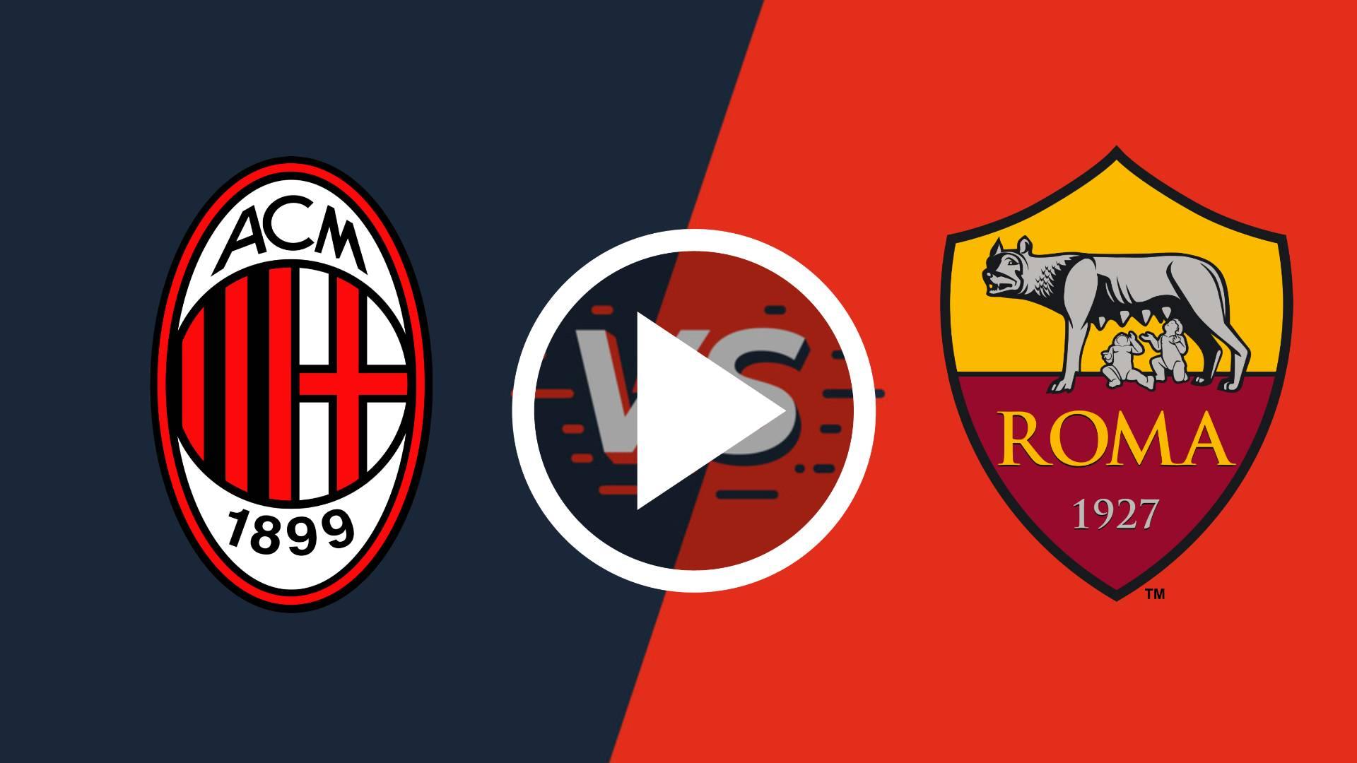AQUI EN DIRECTO AC Milan vs Roma EN VIVO