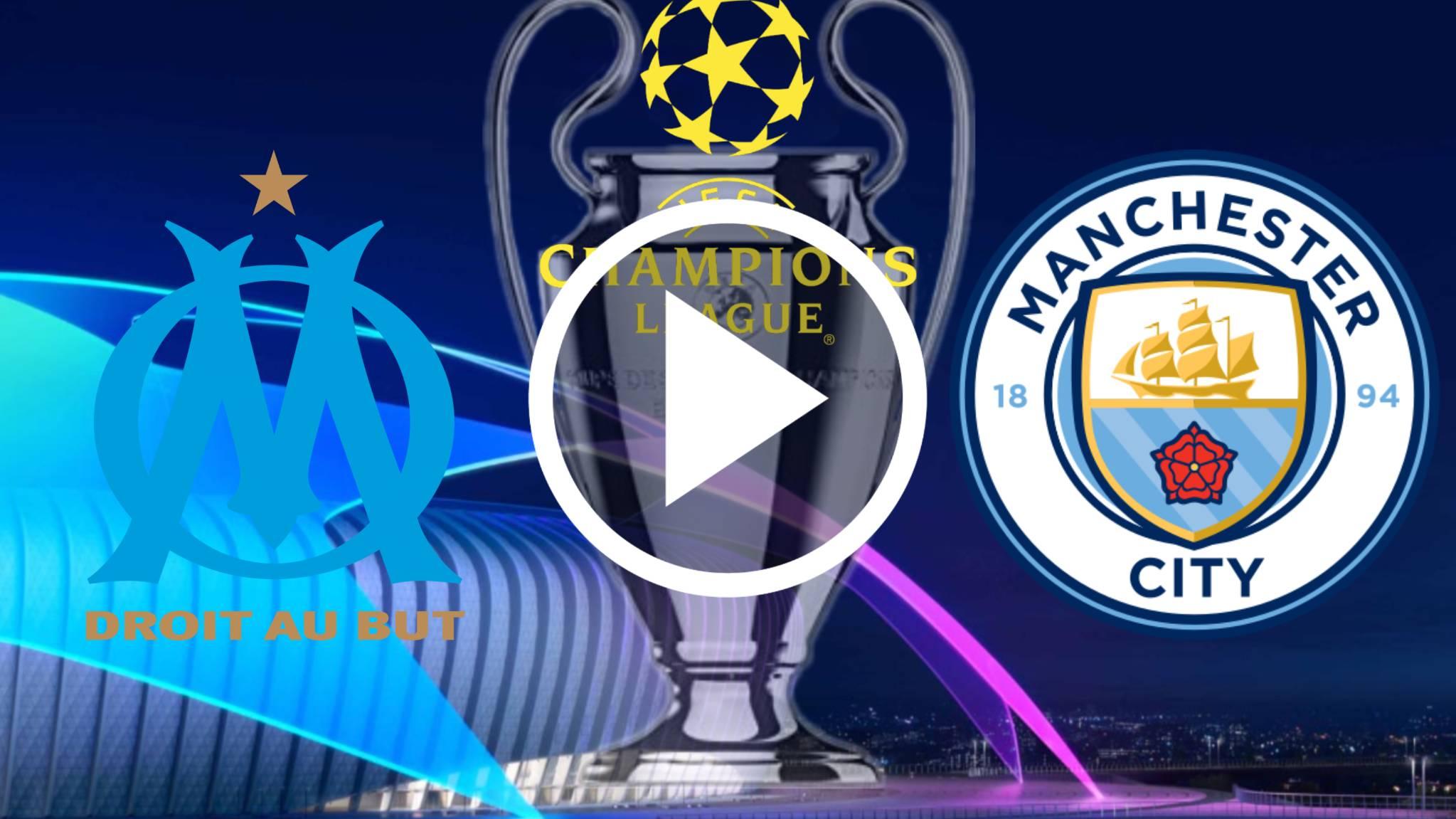 EN DIRECTO AQUI TODO LO QUE QUIERES SABER Olympique Marseille vs Manchester City