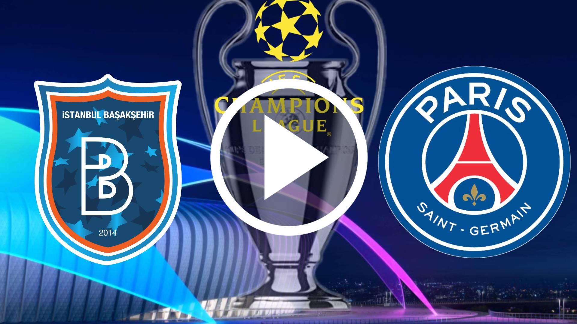 AQUI LO QUE DEBES SABER PARA VER EN VIVO İstanbul Başakşehir - PSG POR LA UEFA CHAMPIONS LEAGUE 20-21