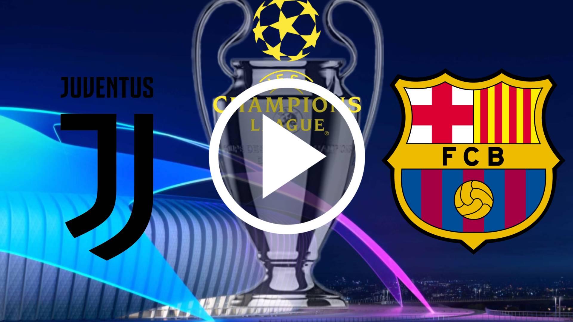 Cuándo y dónde ver el Juventus VS FC Barcelona POR LA UEFA CHAMPIONS LEAGUE 20-21