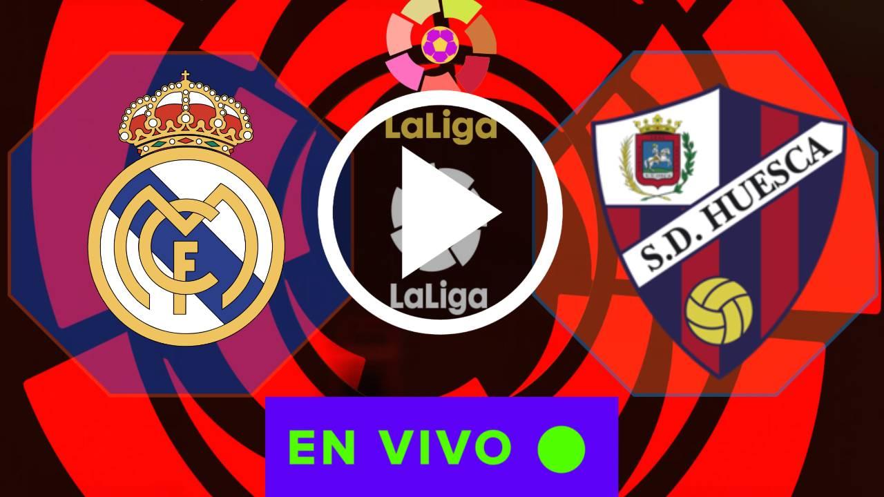 REAL MADRID VS. HUESCA, HORORIO CANAL Y COMO VER EN DIRECTO GRATIS POR LALIGA 202-21