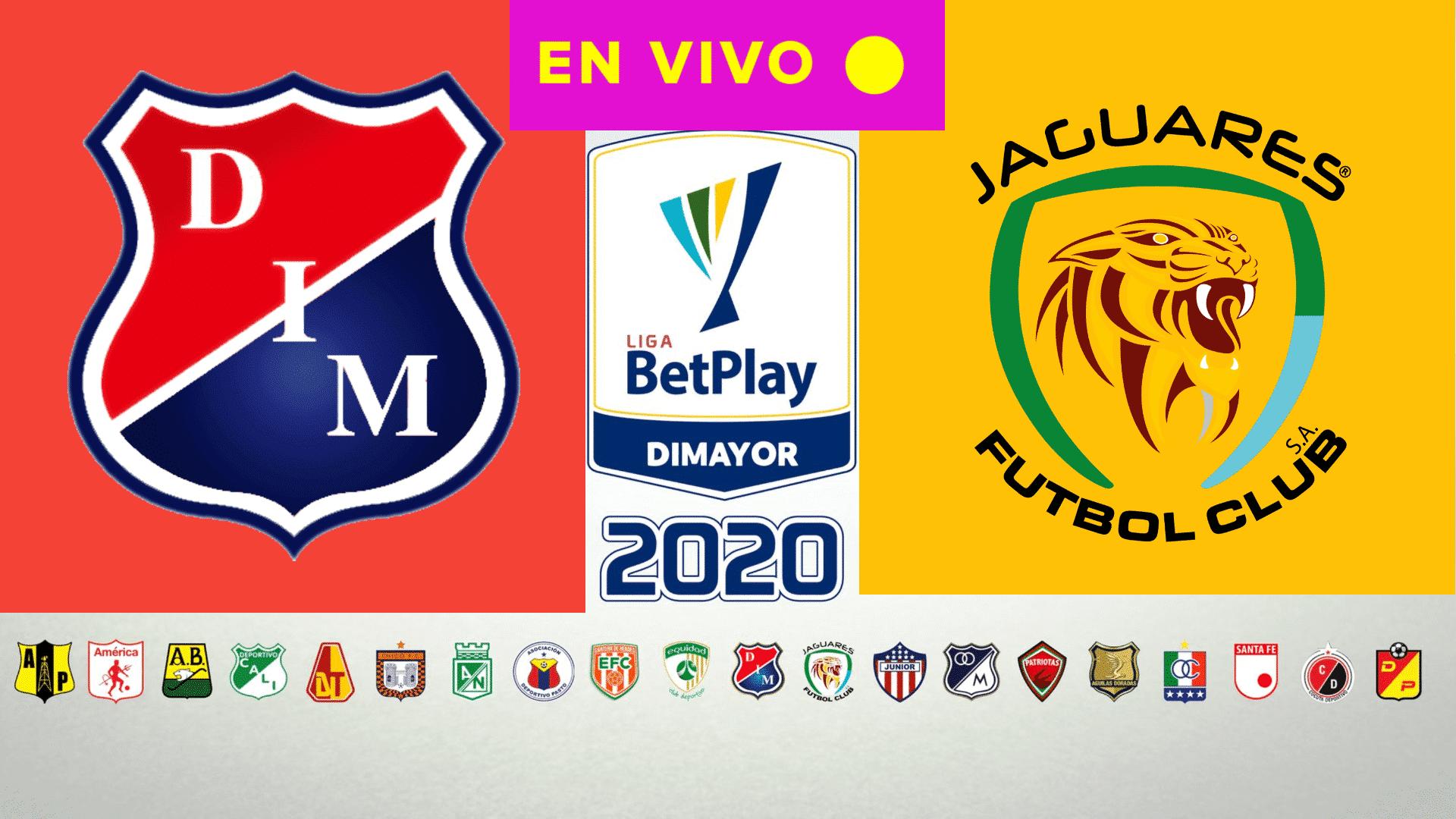 POR LA LIGA BETPLAY | EN DIRECTO Medellín vs Jaguares