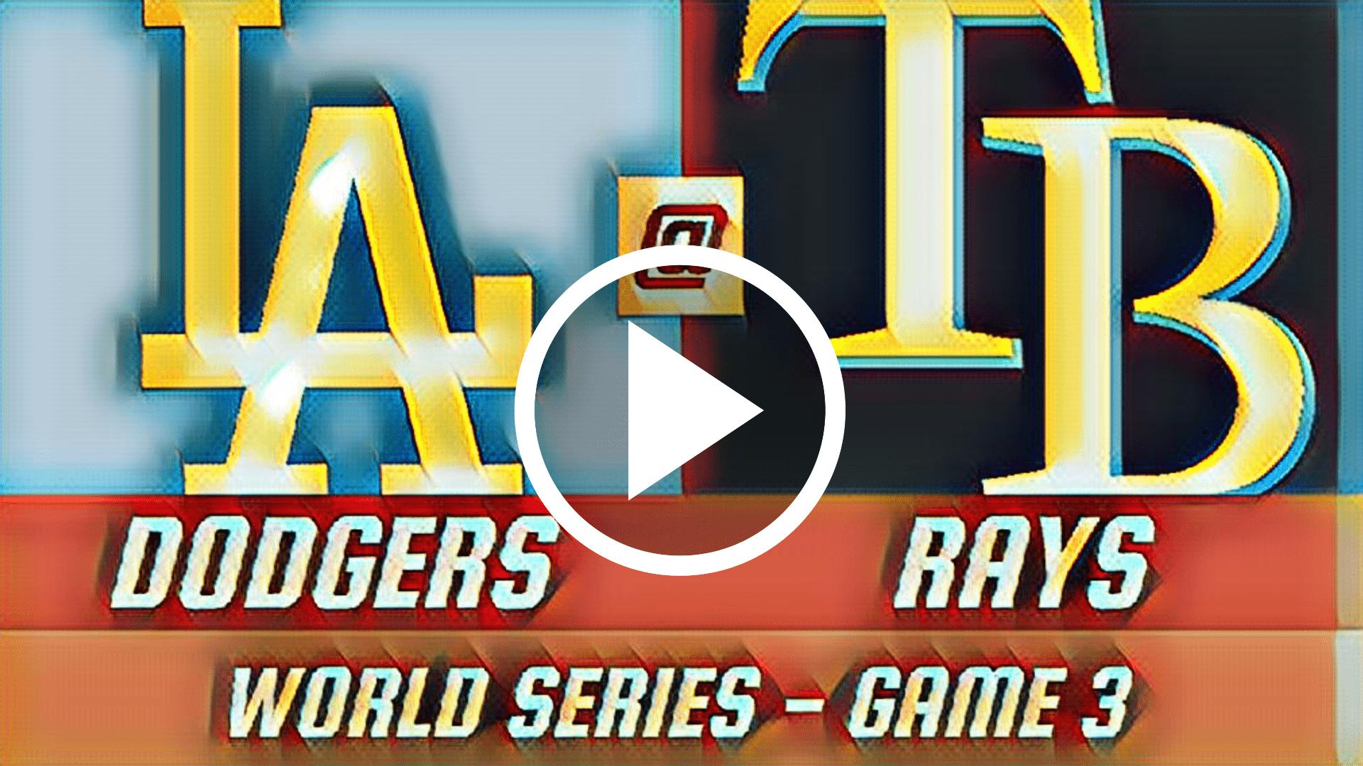 MLB EN VIVO GRATIS ONLINE, Dodgers vs Rays EN VIVO GRATIS ONLINE