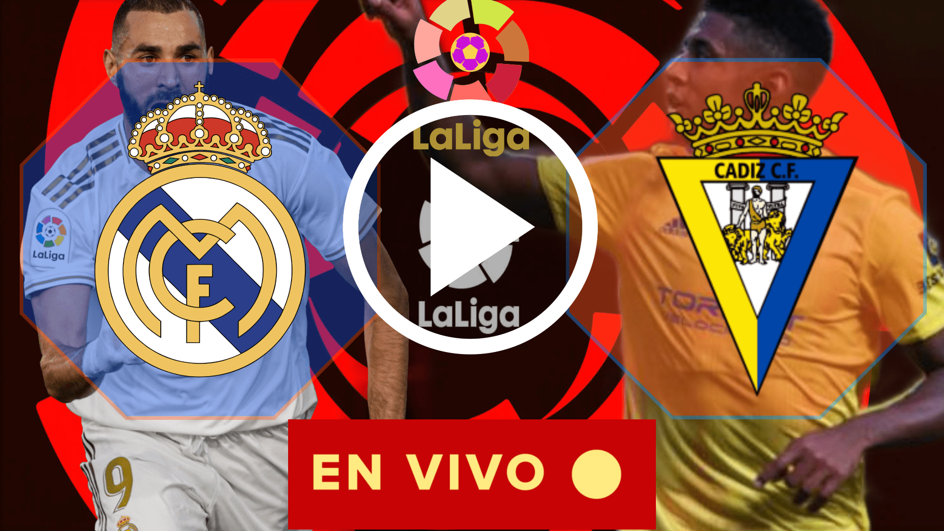 EN CORTO MIRAR EN VIVO REAL MADRID VS CADIZ EN VIVO GRATIS