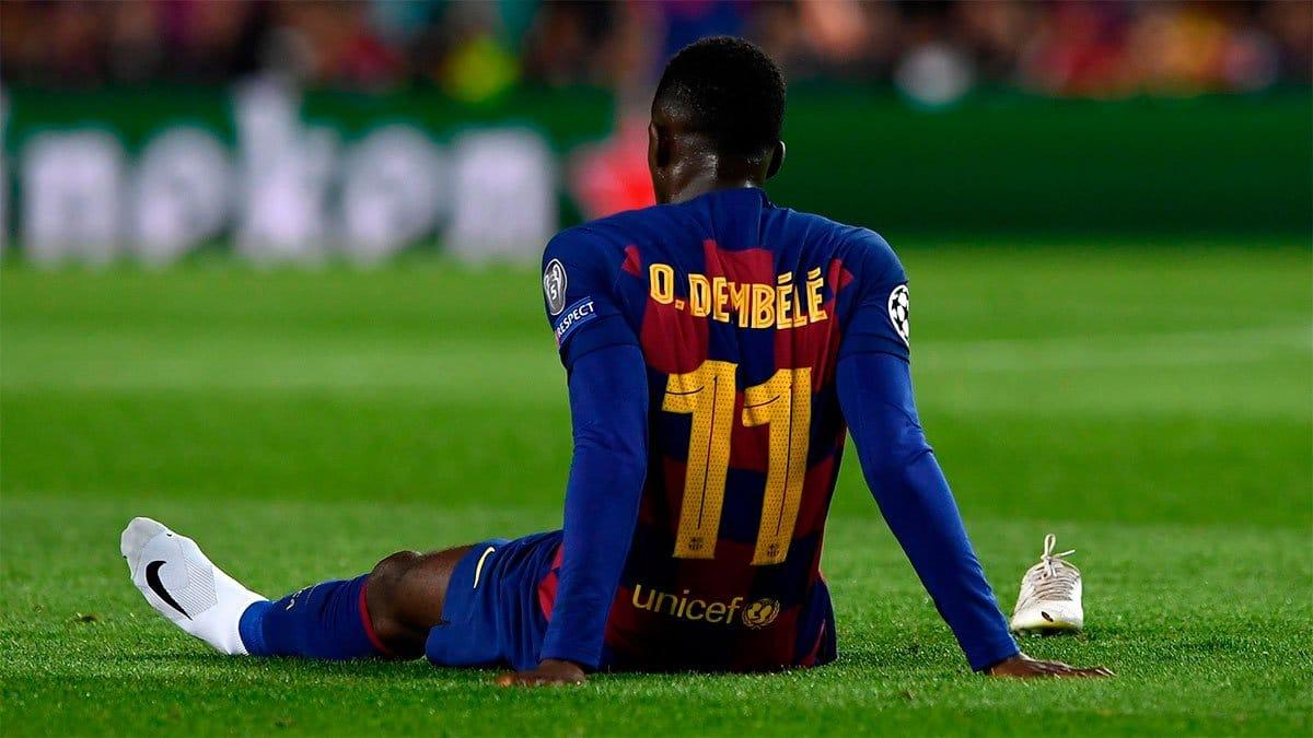 Dembele se la juega al Barca A Messi no le