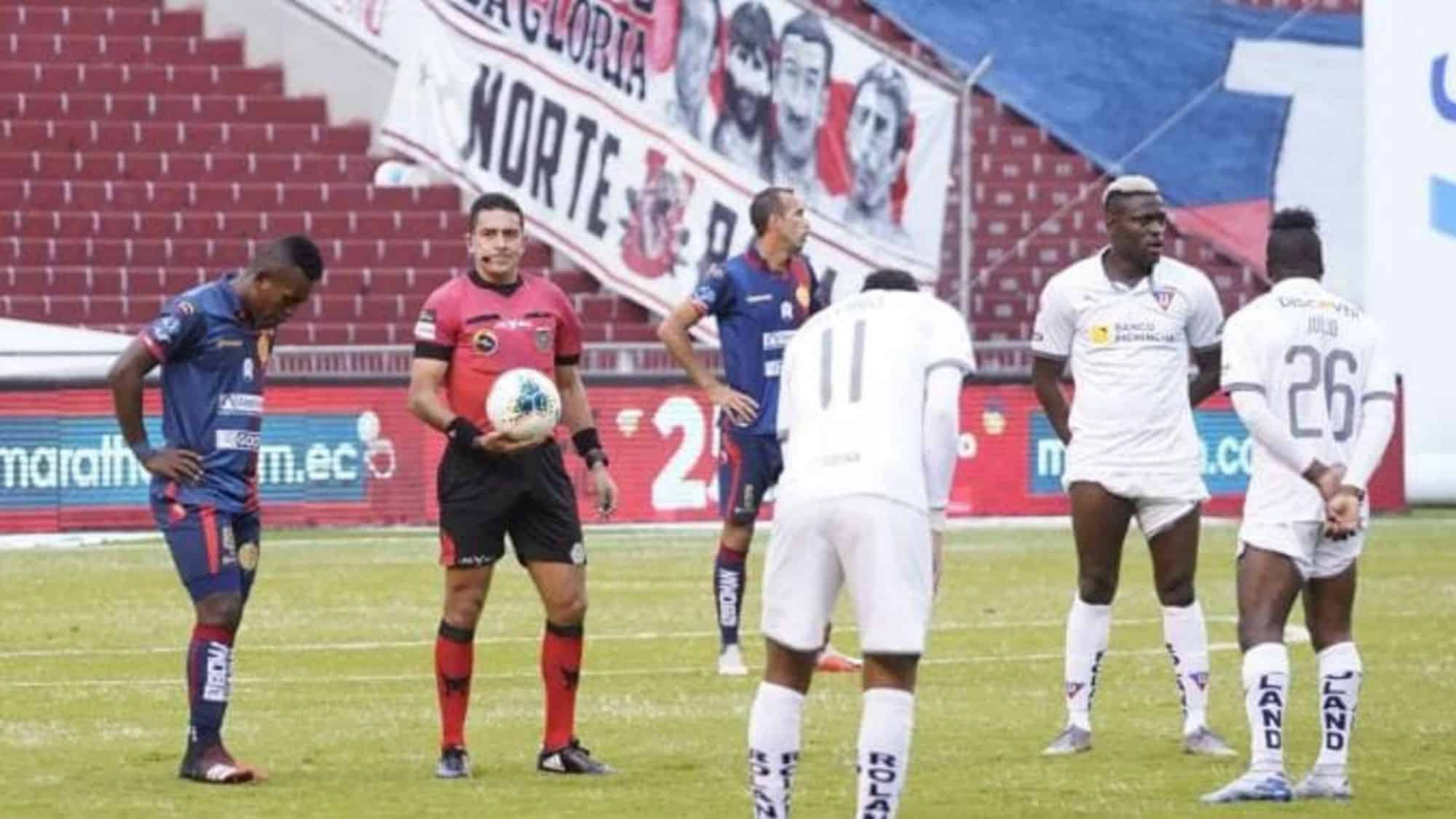 El homenaje de la liga ecuatoriana a Maradona frenaron los