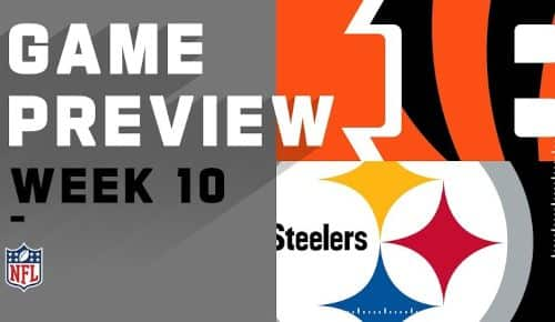 Pittsburgh Steelers vs Cincinnati Bengals EN VIVO Hora Canal Donde
